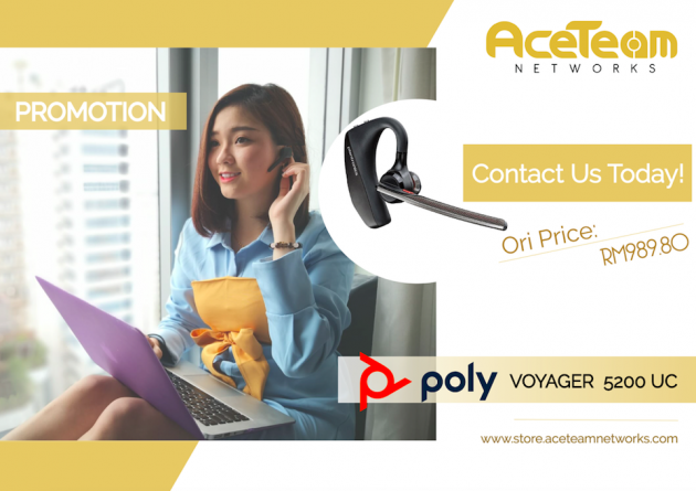 Poly Voyager 5200 Review in Malaysia [2021 Updated]